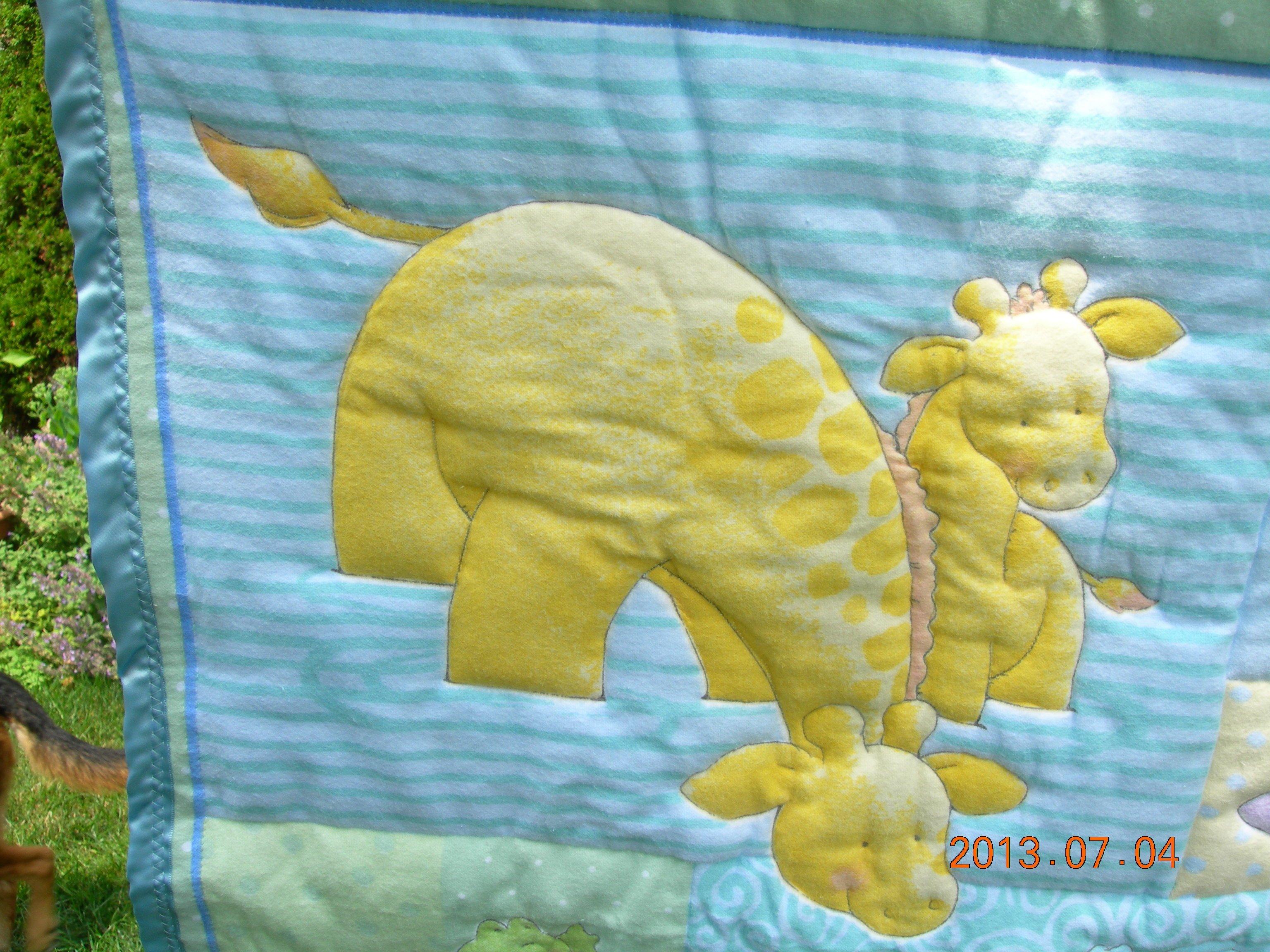 Giraffe Quilt (2)